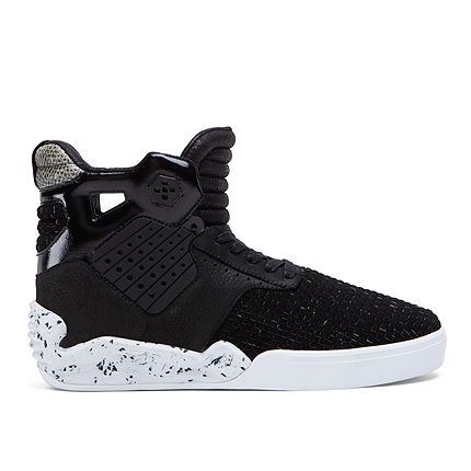 Supra Skytop Iv Black Snake White Official Supra