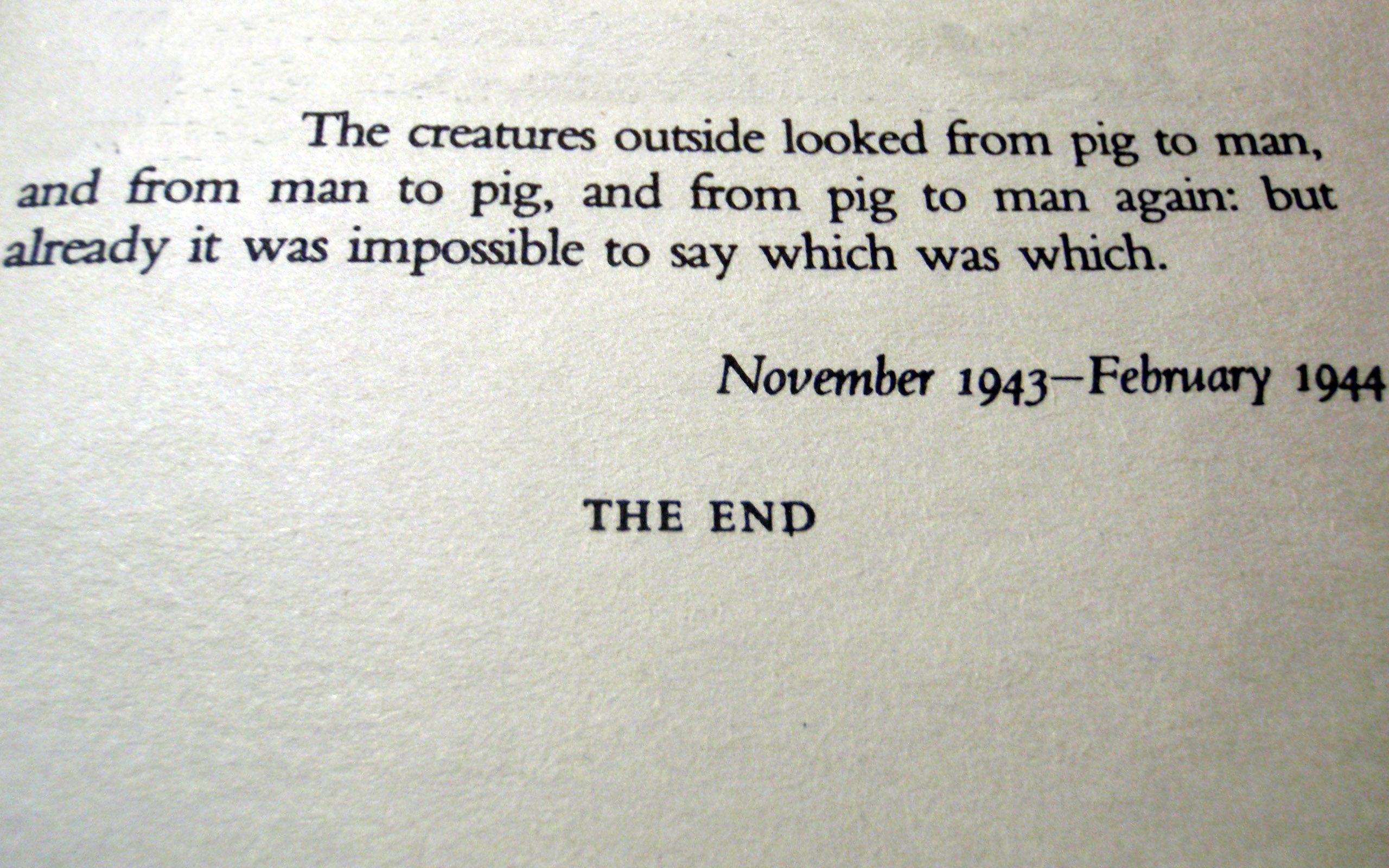 Animal Farm Quotes | Animal Farm George Orwell Books Quotes Typewriters Wallpaper