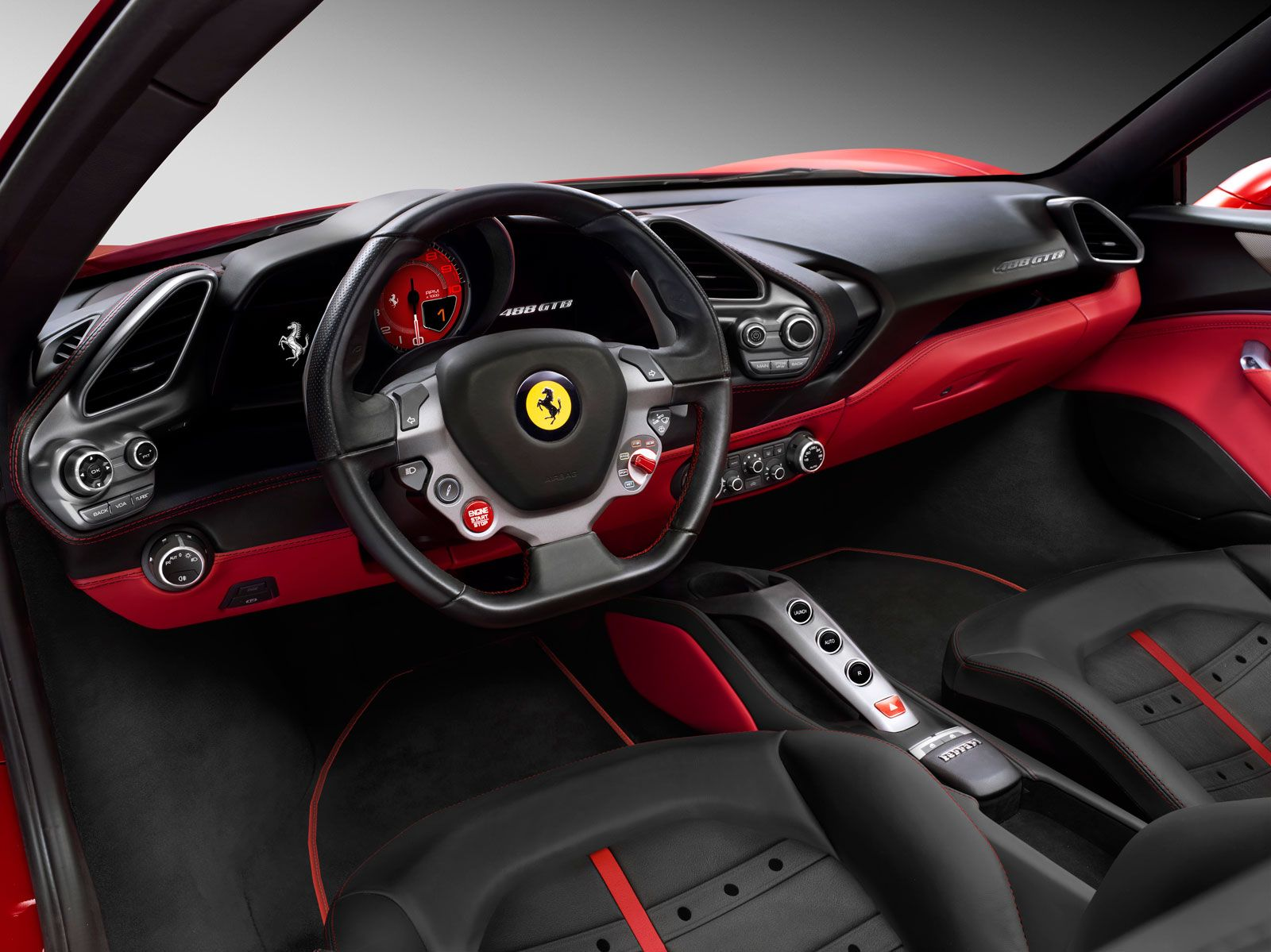 Ferrari 488 Gtb Interior With Images Ferrari Car 488 Gtb