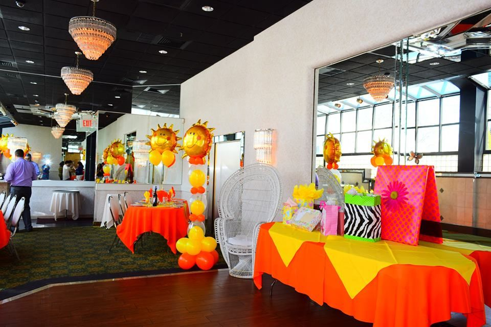 Baby Shower Decorations Nyc ~ Sunny day sun baby shower decorations balloon columns pinterest