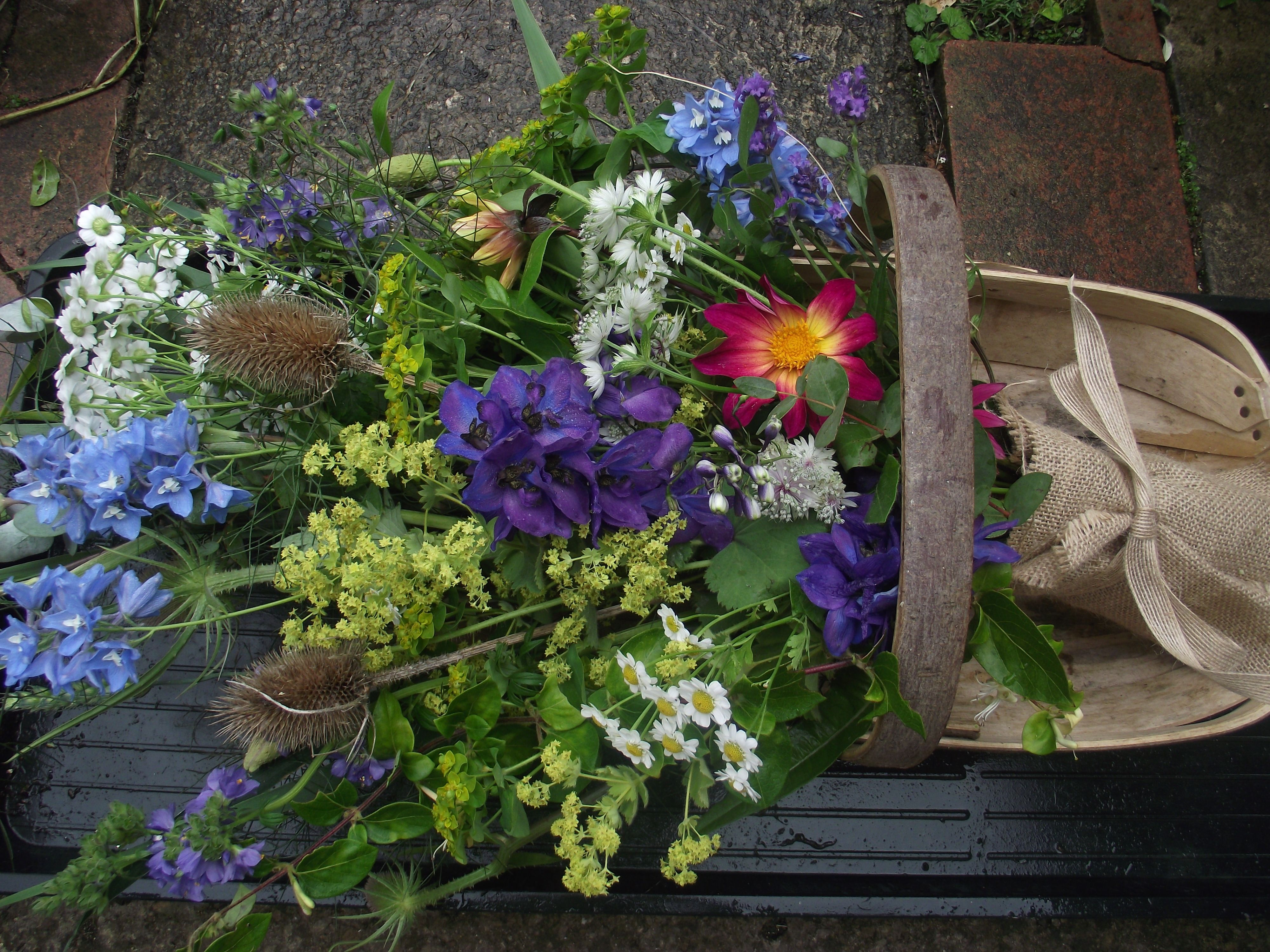 Trug Design Biodegradeable Sympathy Tributes Pinterest Funeral
