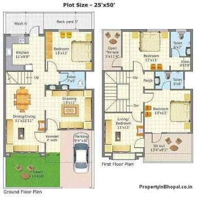 Image Result For House Plans India Indian House Plans Duplex House Design Duplex House Plans Small house plan in india