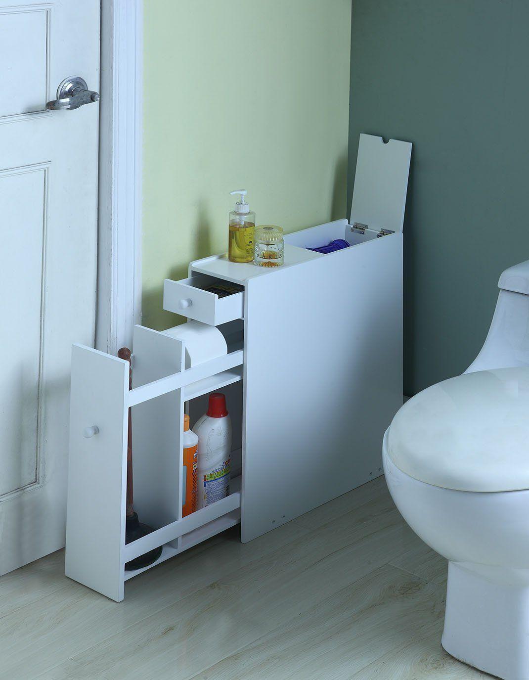 Amazon.com: Proman Products Bathroom Floor Cabinet: Kitchen & Dining ...