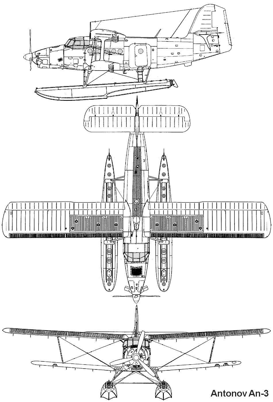 Miraculous Airplane Aircraft 3 View Scale Drawings Drawings Airplane Aircraft Wiring Digital Resources Remcakbiperorg