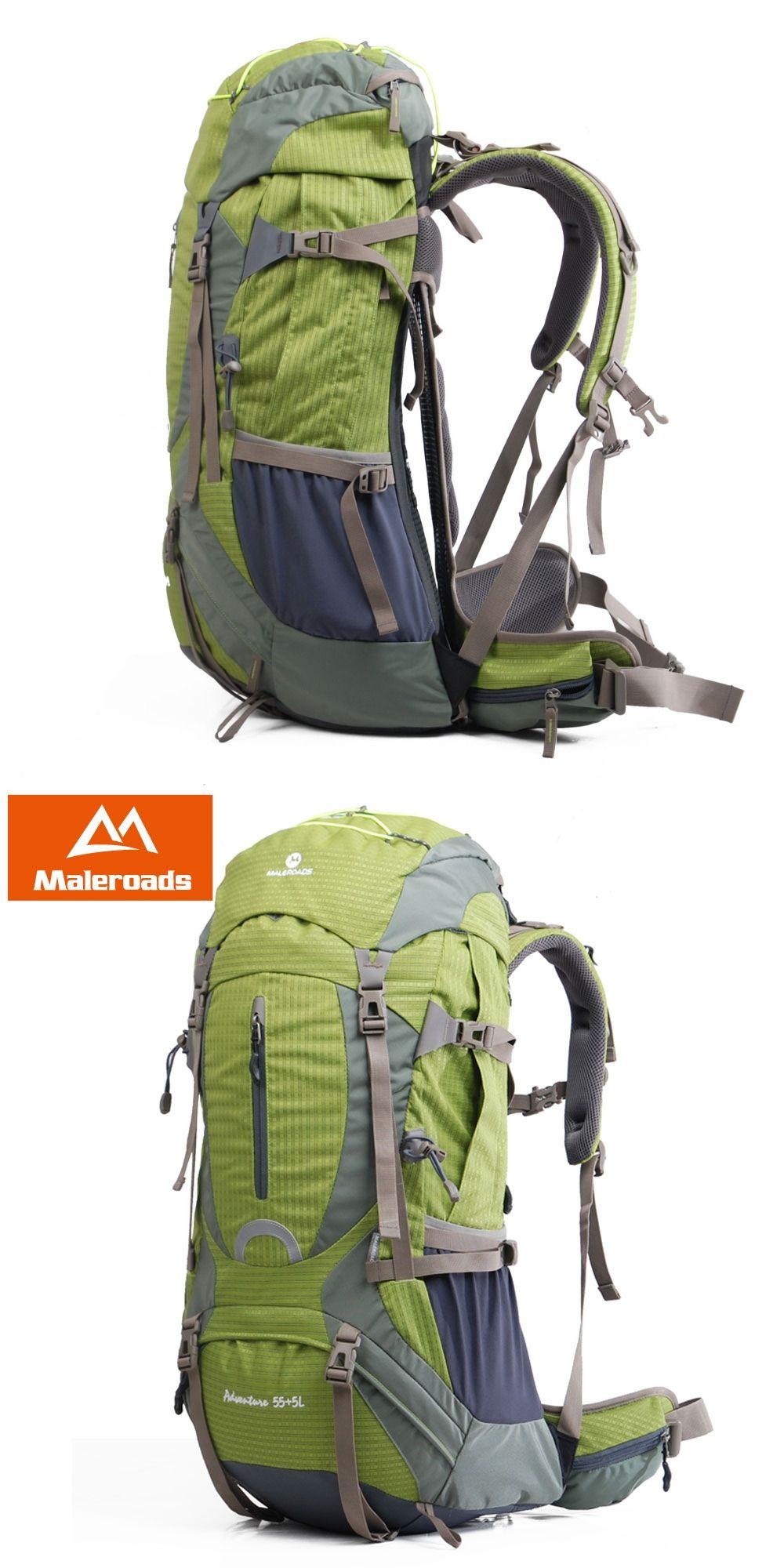 6cc49a3e6696 Maleroads High quality Professional Mountaineering climb backpack Trekking  pack camp equipment hike gear 50L 60L for men women