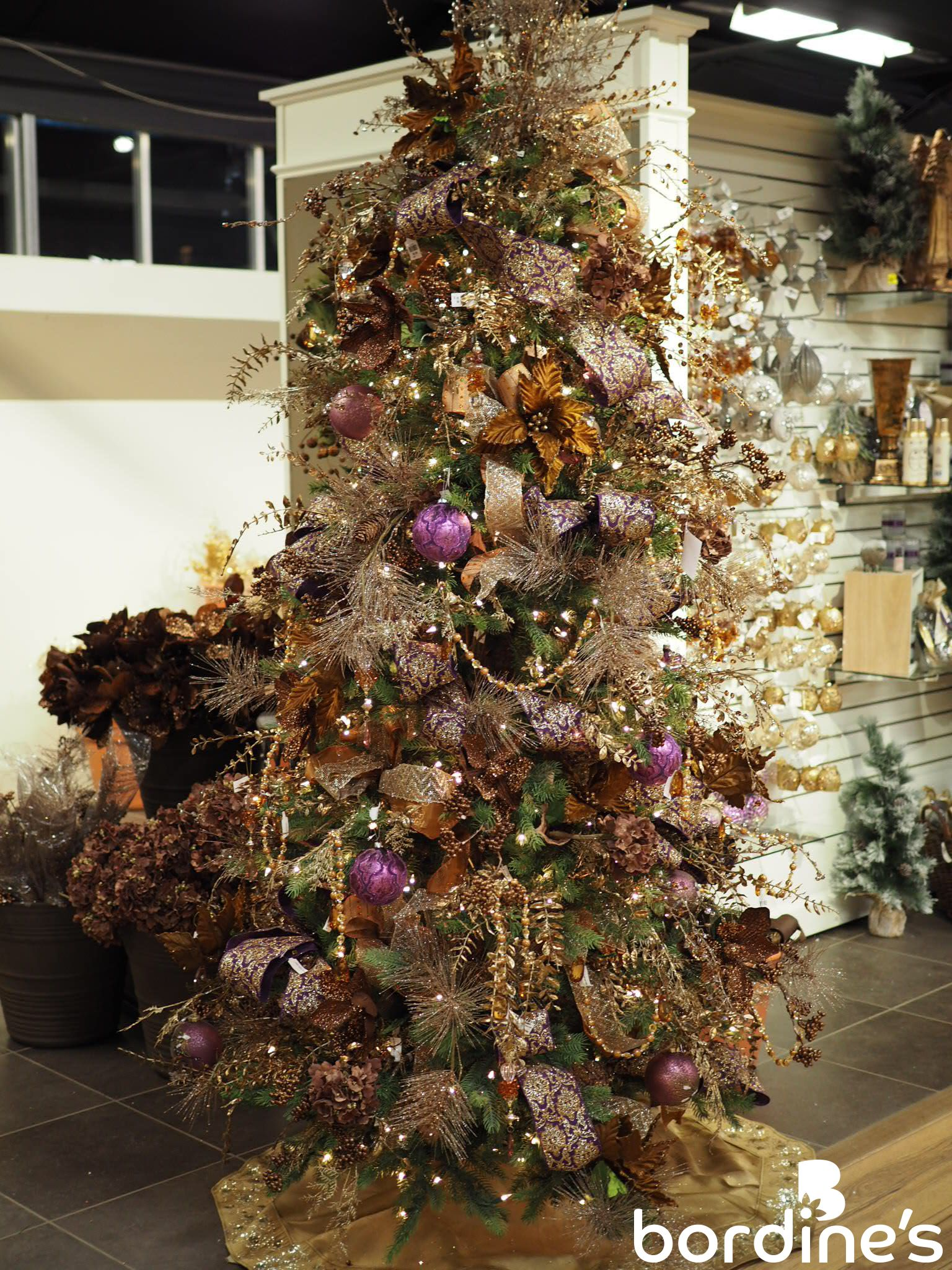 Plum Visions Dripping In Gold And Purple With Silver Accents Gold Christmas Decorations Purple Christmas Tree Christmas Decorations