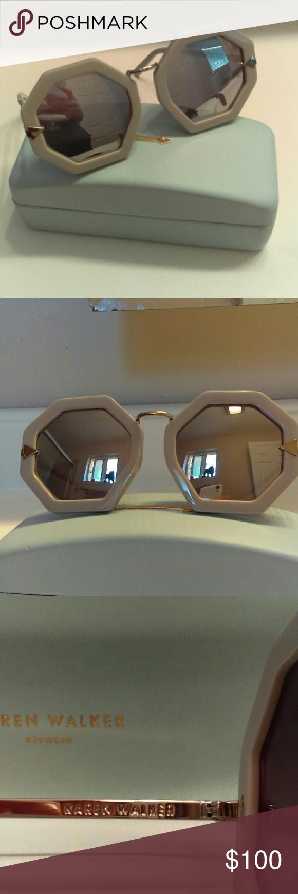 baf272a2caa NWOT Karen Walker moon disco sunglasses Brand new Karen Walker sunglasses  that were used as a