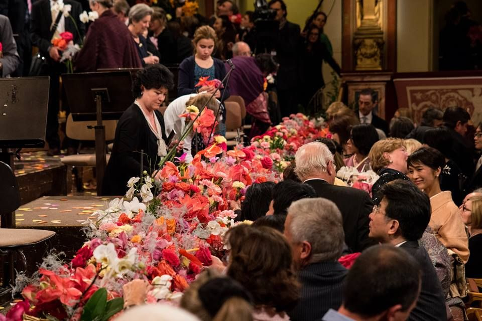 What about the 30.000 flowers after the New Year's Concert