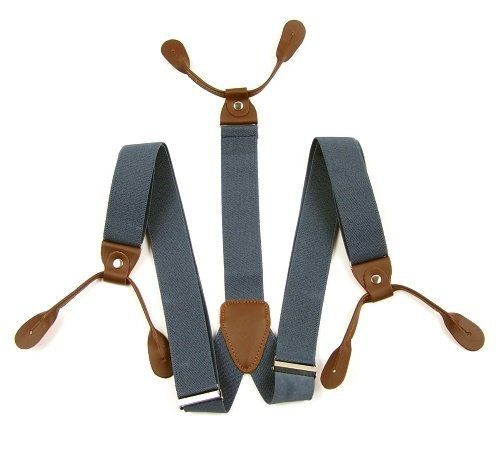 Button Suspenders. 6 Button Suspender. Suspenders. by Tietle, $40.00