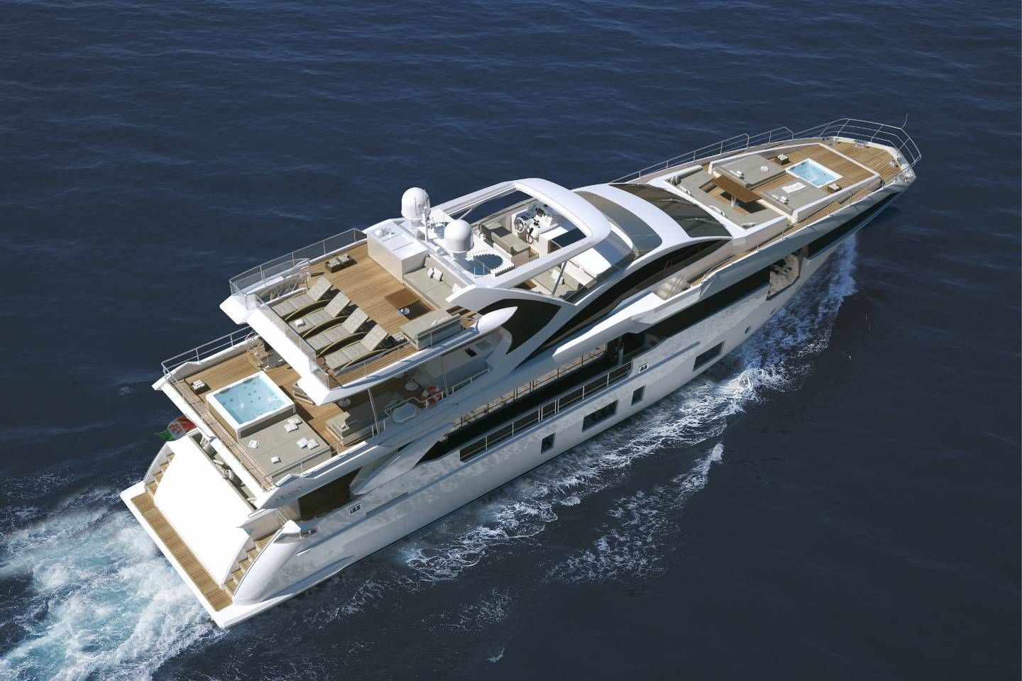 Ready Azimut Grande35m The New Flagship Carbon Fiber And
