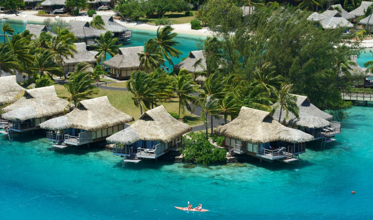 The 7 Best Overwater Bungalow Resorts In Tahiti And Bora Bora In 2020 In 2020 Overwater Bungalows Water Bungalow Bungalow Resorts