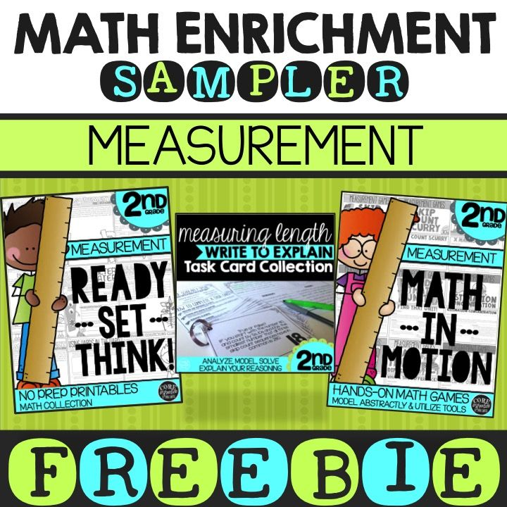 In this FREE Math Enrichment Sampler, you will find some of my BEST ...