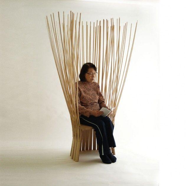 Japanese Designer Hiroki Takada Has Created The Tea Ceremony Chair. The  Bamboo Chairu0027s Design Was