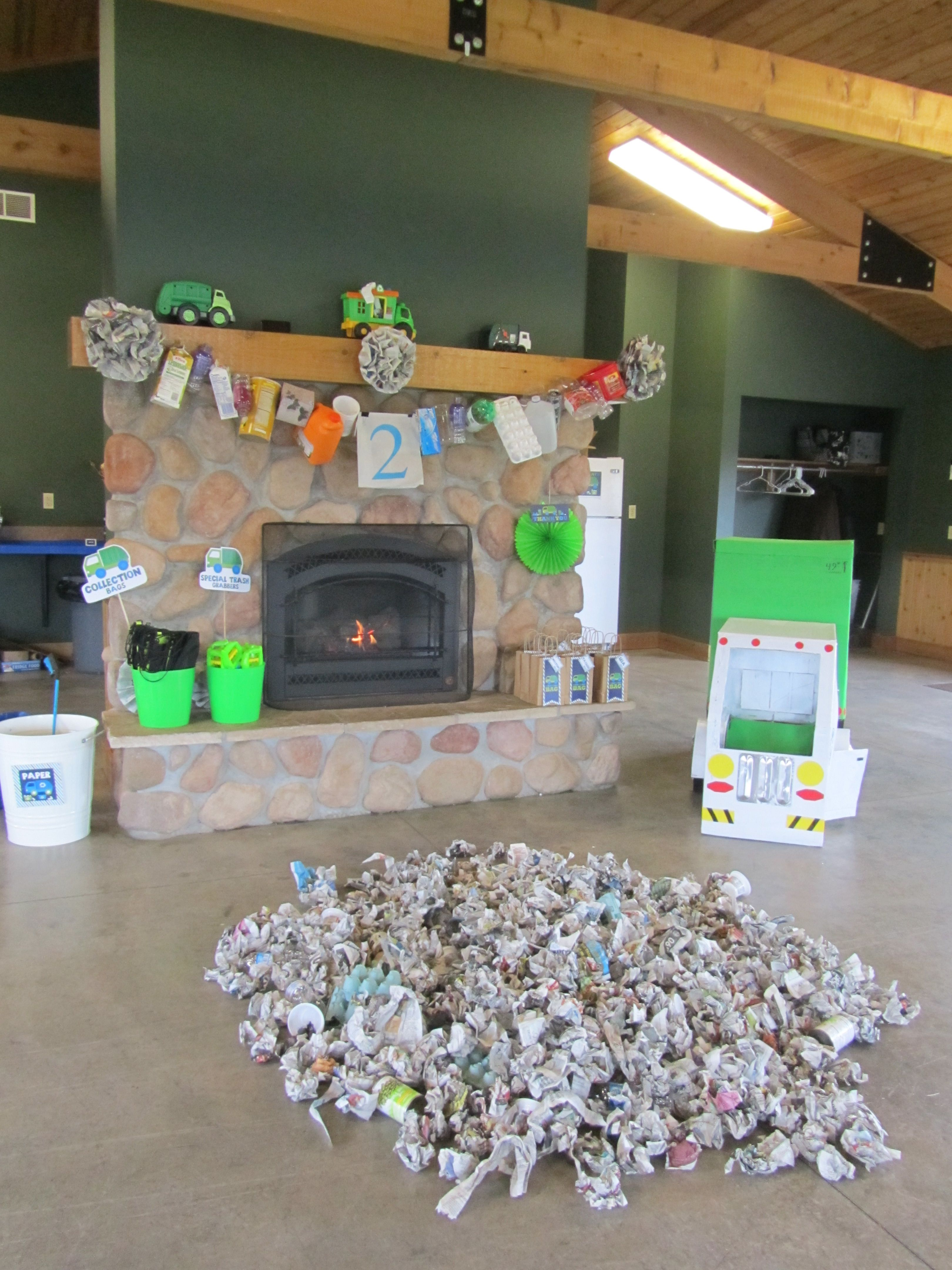 Decorations For Garbage Truck Party Love The Recyclable