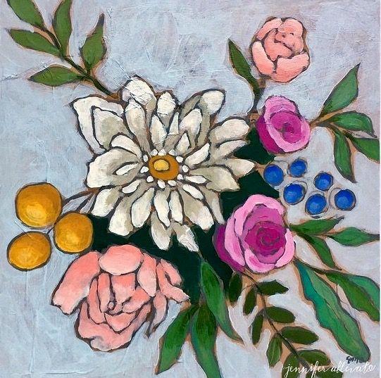 A Bouquet for Caroline by Jennifer Allevato