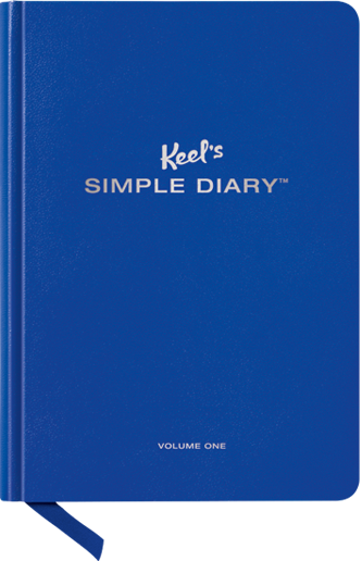 Simple Diary / Each page has something different for you