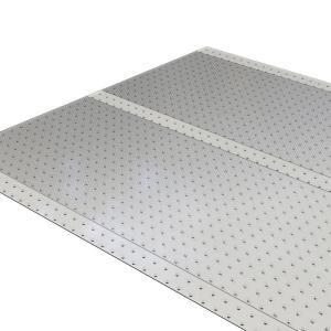 Es Robbins Clear 36 In X 10 Ft Vinyl Ribbed Runner 184014 The Home Depot Vinyl Carpet Protector Plastic Carpet Runner Plastic Rug