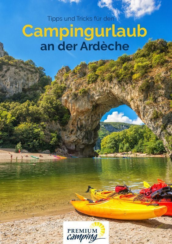 Photo of Premium Camping on the Ardèche – France's most beautiful white water river