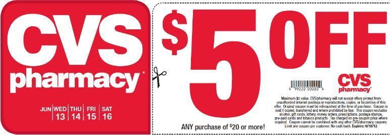 cvs coupons printable