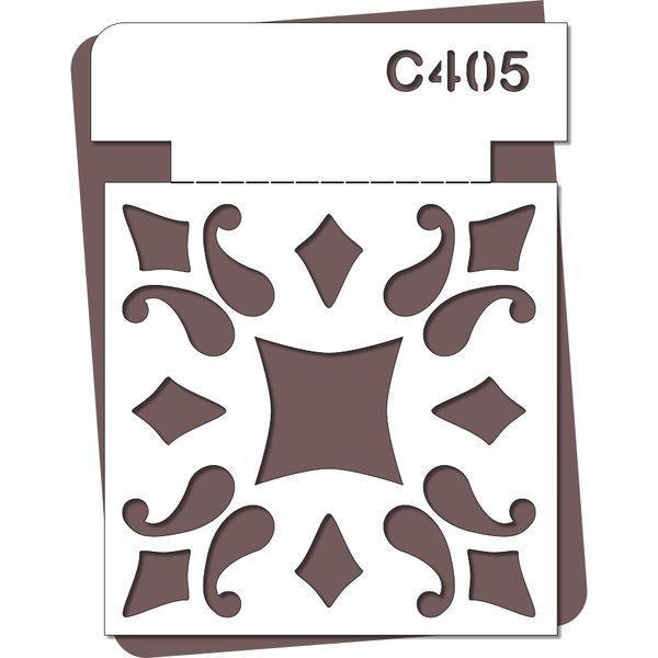 pochoir carreau de ciment p c405 de bonnes id es. Black Bedroom Furniture Sets. Home Design Ideas