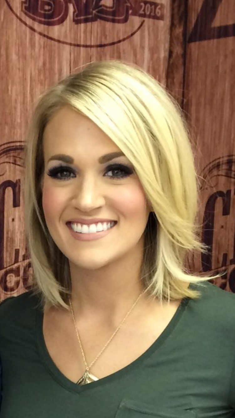 Carrie Underwood Carrie Underwood Hair Celebrity Bobs