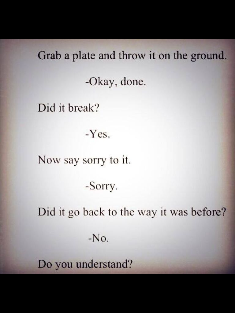 Some people need to learn to understand