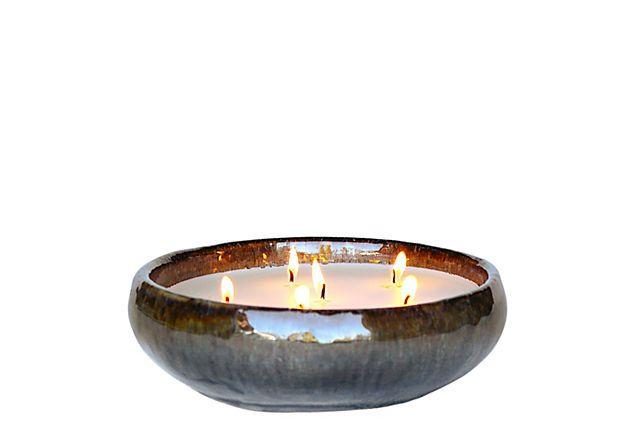 6-Wick Ocean Candle, Holiday Hearth on OneKingsLane.com