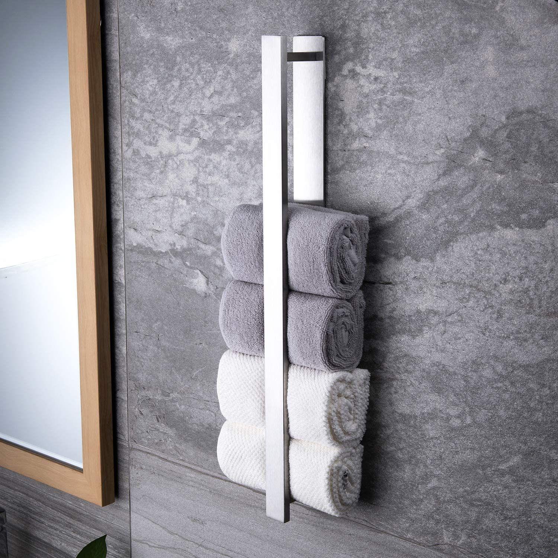 Modern Bathroom Decoration In 2020 Handtuchhalter Ohne Bohren Handtuchregal Handtuchhalter