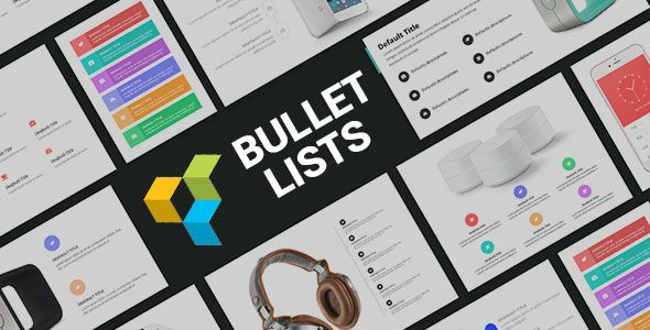 cool Bullet List Addons for Visual Composer Wordpress Plugin (Add-ons)