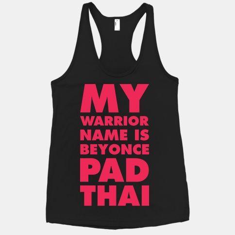 76cce1cd0 My Warrior Name is Beyonce Pad Thai | HUMAN from the Mindy Project