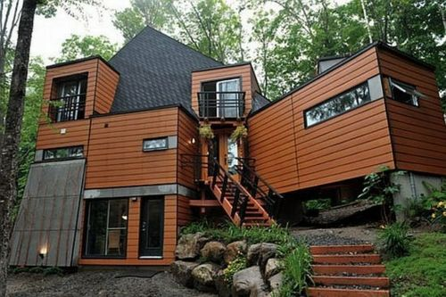 braun schwarz fassade container haus design treppe pflanzen pinterest container. Black Bedroom Furniture Sets. Home Design Ideas
