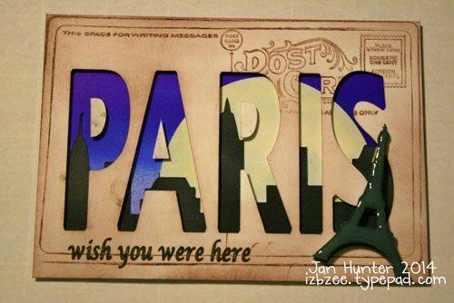 Post Card--SVG DT Travel Set