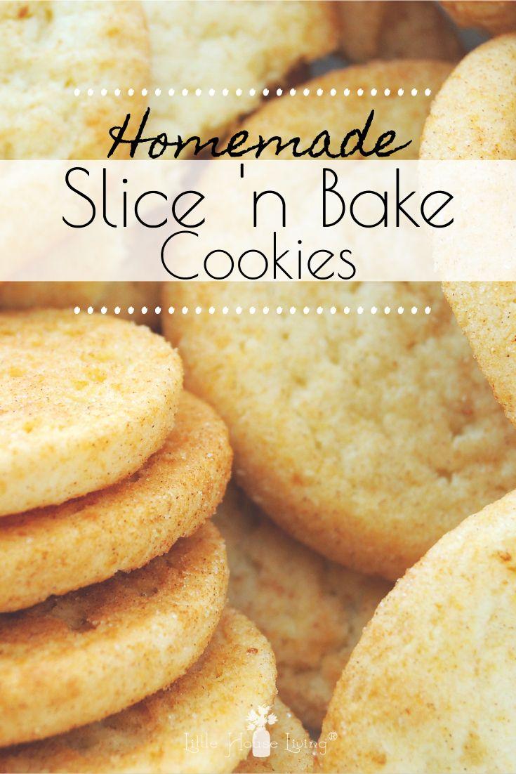 Slice and Bake Sugar Cookies