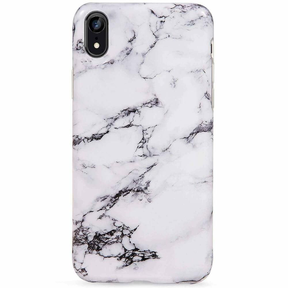 Lumarke Iphone Xr Case Cute Black White Marble For Men Girls Women Slim Fit Glos Lumarke Phone Cases Protective Iphone Phone Cases