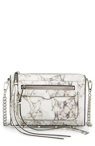 b4ddd3f071 who doesn t need a marble print handbag    Rebecca Minkoff  Avery  Crossbody    Nordstrom