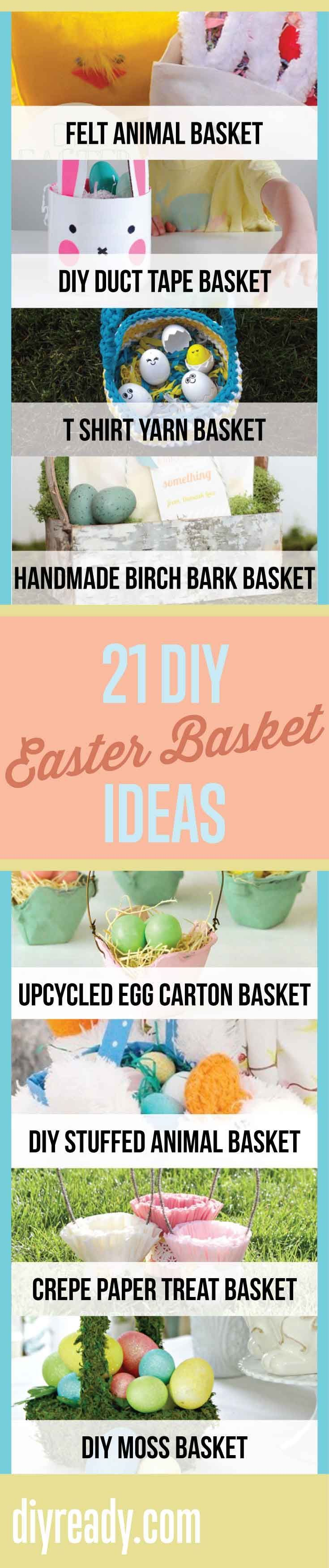 15 diy easter basket ideas that will have you hoppin basket 15 diy easter basket ideas that will have you hoppin negle Image collections