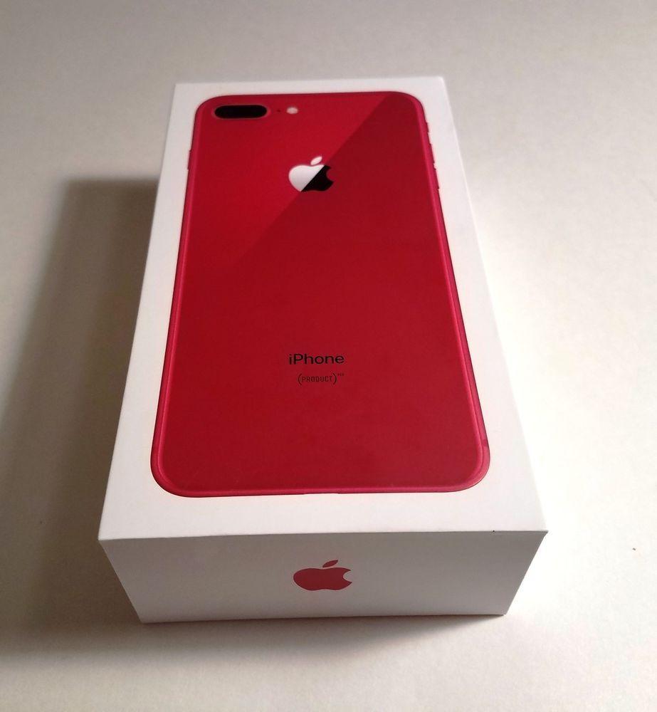Apple Iphone 8 Plus Product Red 64gb Verizon A1864 Cdma