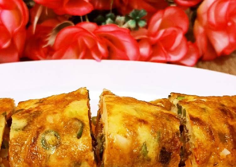 Resep Rahasia Omelet Sayur
