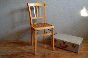 Chaise À Aux Bistrot Et De Une Bicolore Jolie Voici L'assise oQdxhtrCBs