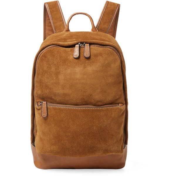 Frye Chris Suede Backpack Light Pastel Brown 275