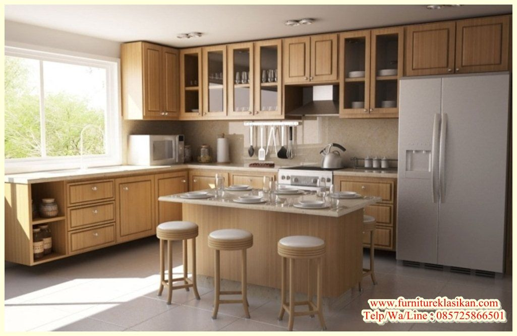 Desain Kitchen Set Jati Minimalis Deskripsi Produk Kitchen Set