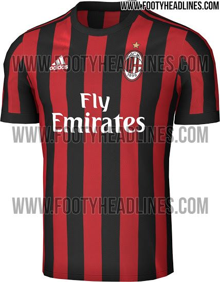 0019a53d1 AC Milan 17-18 Home Kit Leaked - Footy Headlines | Football clubs ...