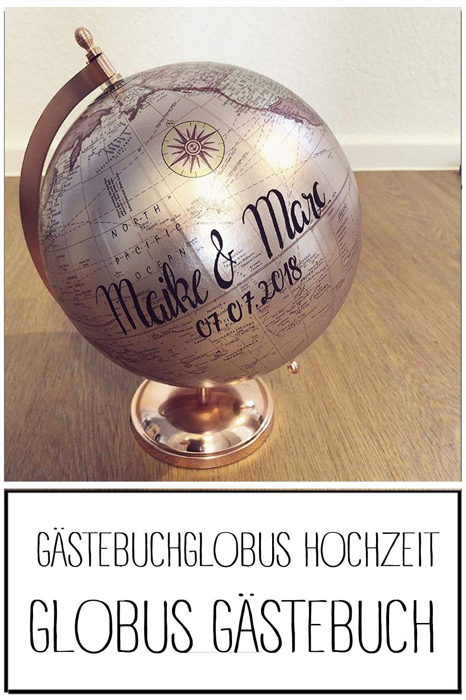 Gastebuchglobus Hochzeit Globus Gastebuch In 2020 Globus Hochzeit Gastebuch Ideen