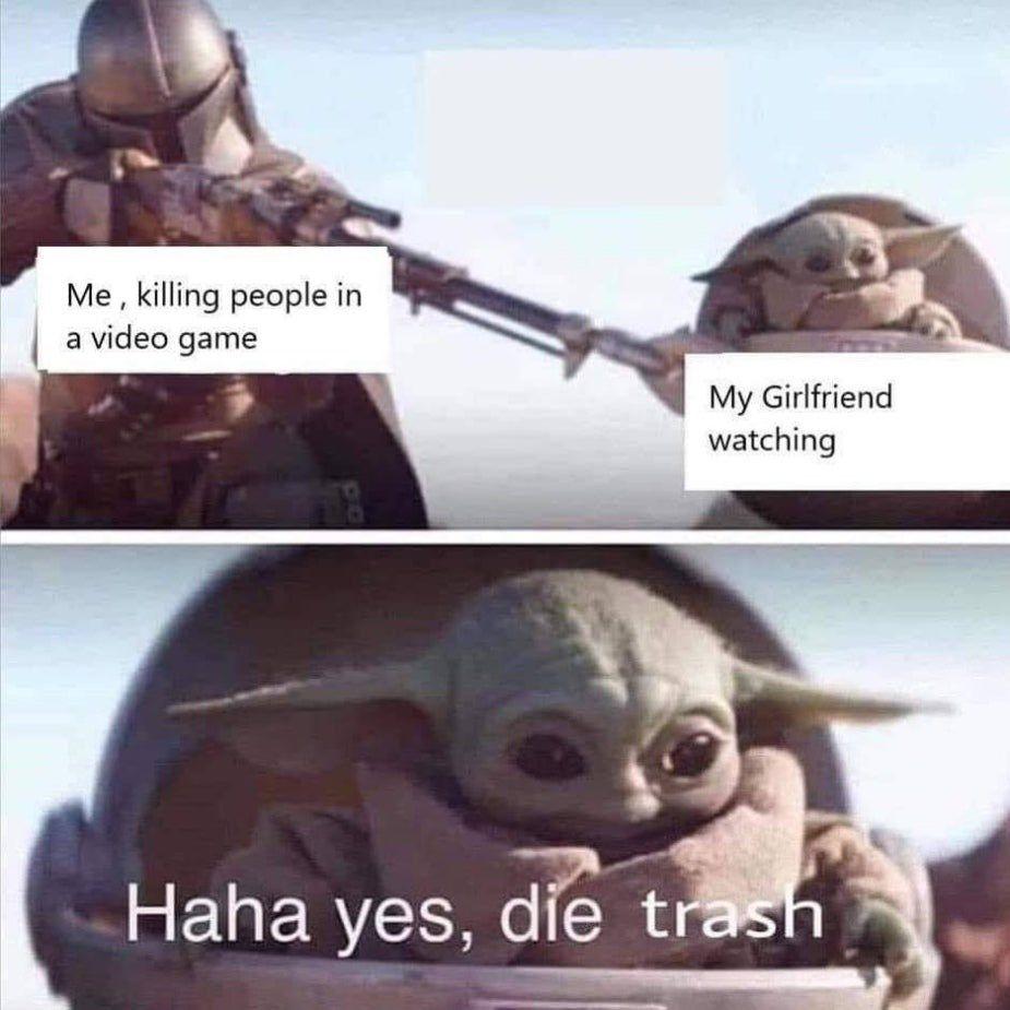 Random Memes That Have No Purpose But Entertainment Funny Memes Funny Relatable Memes Yoda Meme