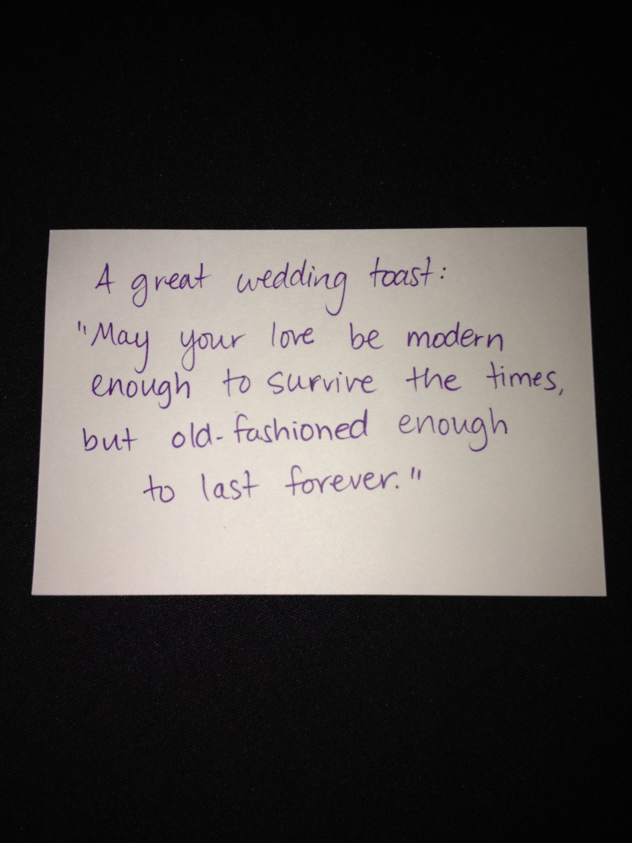 """""""may your love be modern enough to survive the times, but"""