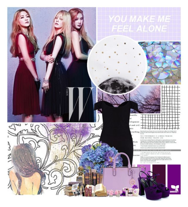 """You make me feel alone"" by empresssx ❤ liked on Polyvore featuring Lollipop, Lipsy, Diane James, Henri Bendel, Bocage, Napoleon Perdis and Yves Saint Laurent"