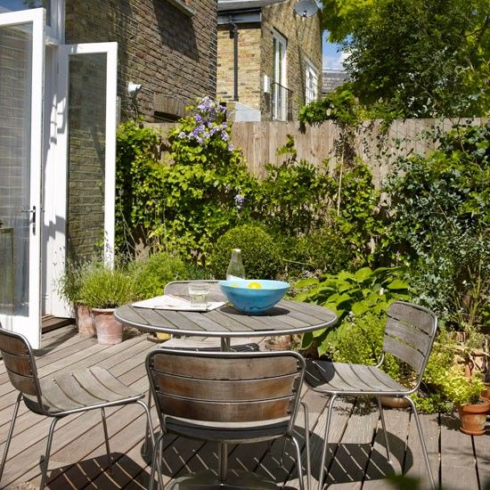 Small garden terrace Small garden design ideas Garden designs
