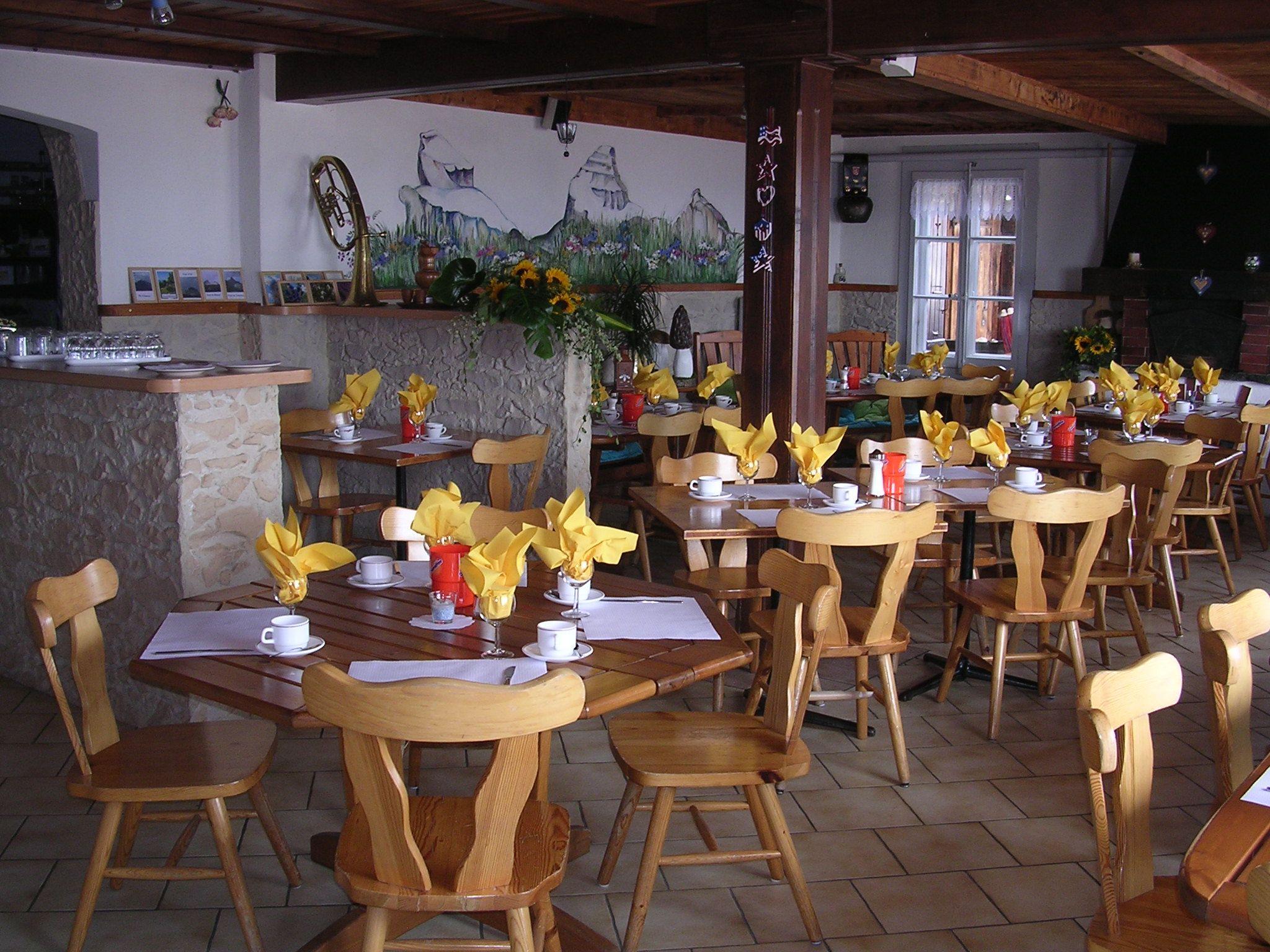 Salle à manger des petitdéjeuners Breakfest diningroom.
