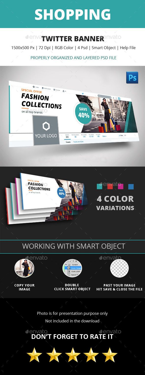 Shopping Twitter Banner | Twitter banner, Banners and Banner template