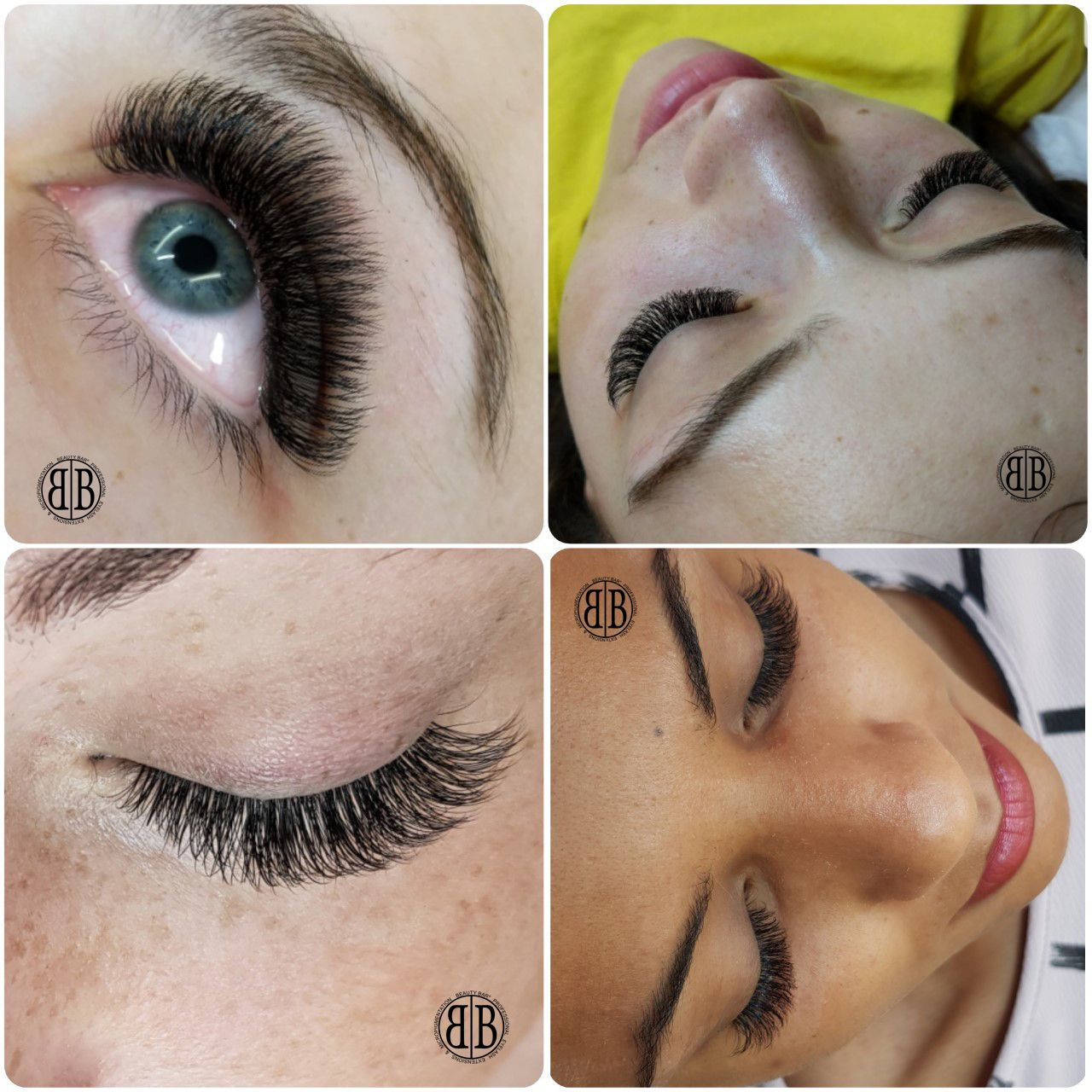 With individual eyelash extensions you don't have to worry